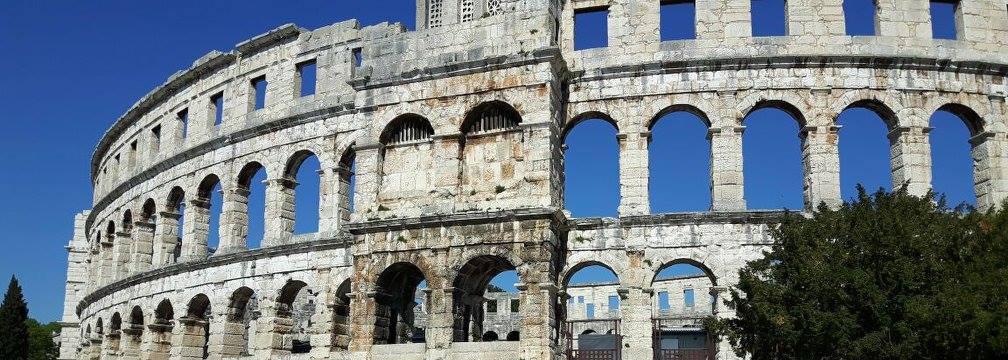 Visit Croatia. Visit Pula Amphitheatre.